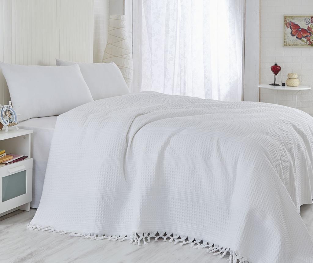 Prekrivač Pique Vulsky White 180x240 cm