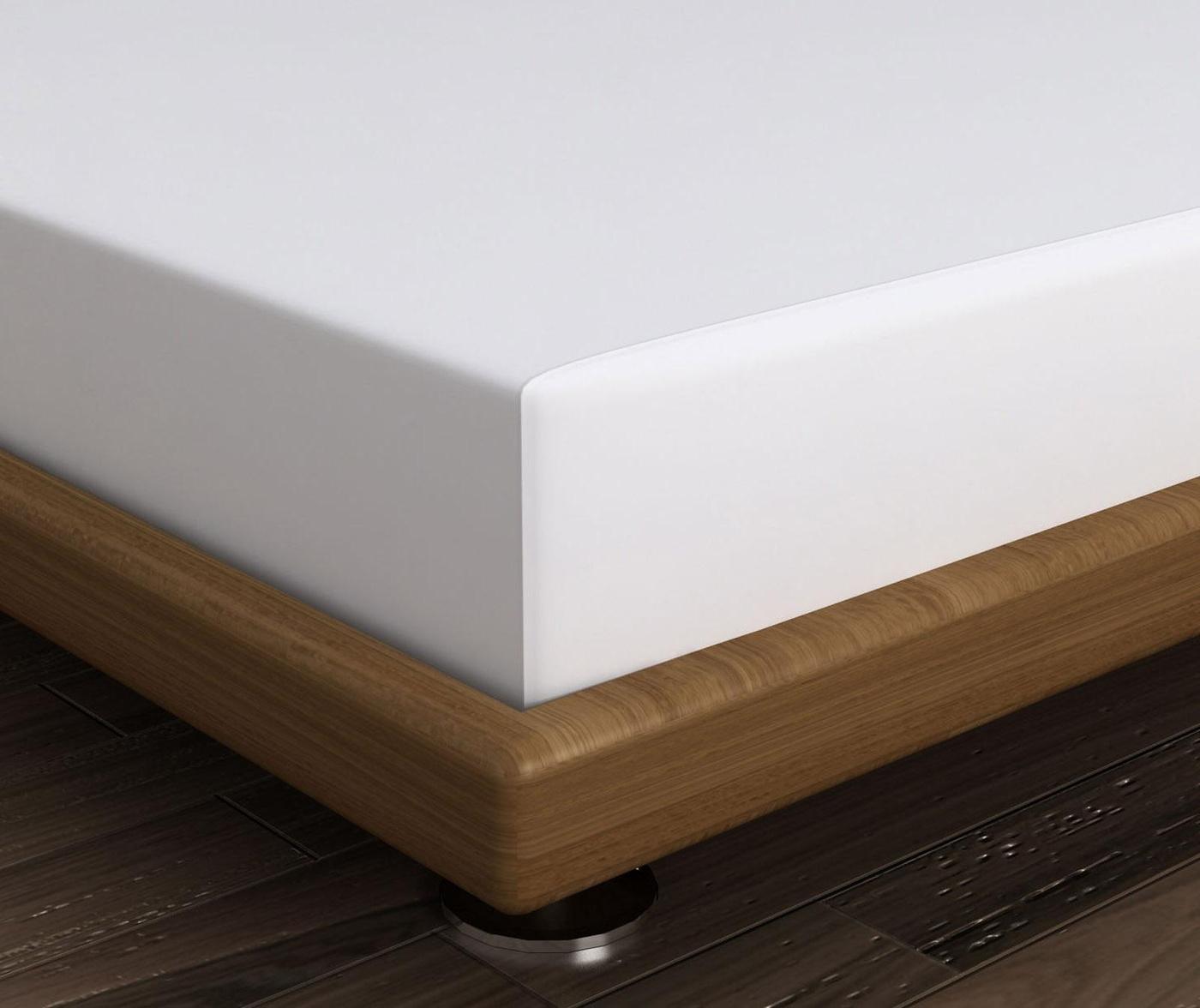 Cearsaf de pat cu elastic Mini White 140x190 cm