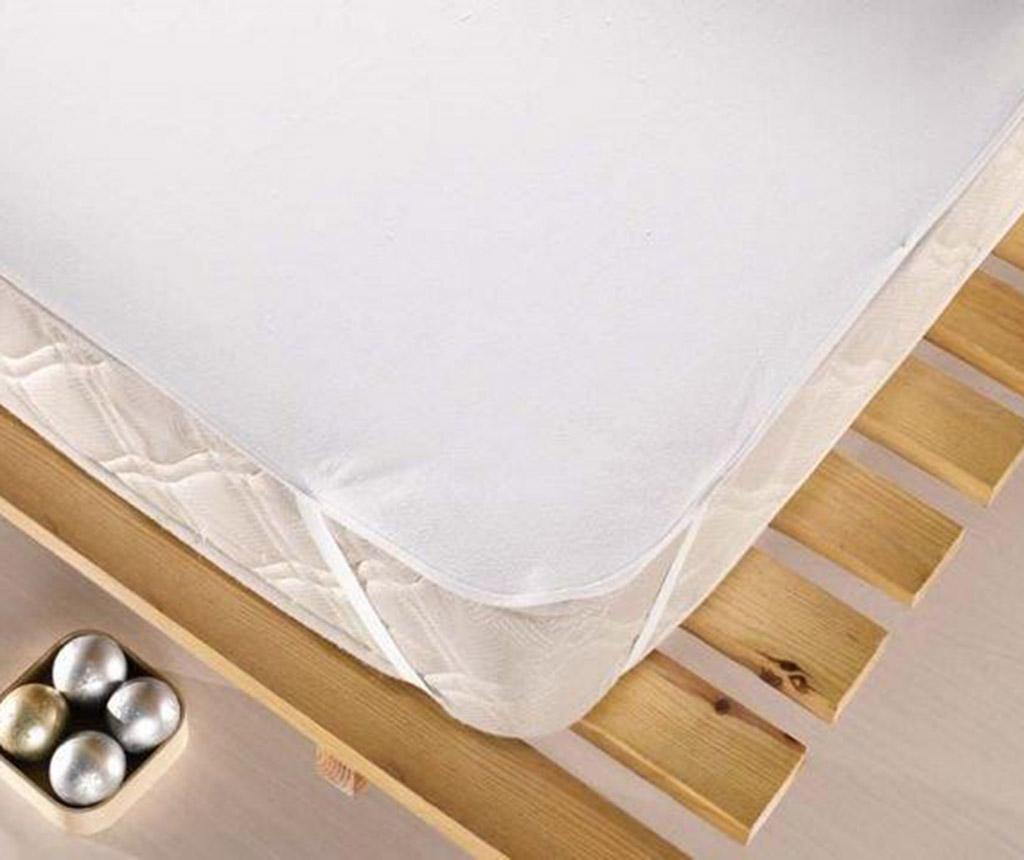 Protectie impermeabila pentru saltea Pure White 100x200 cm