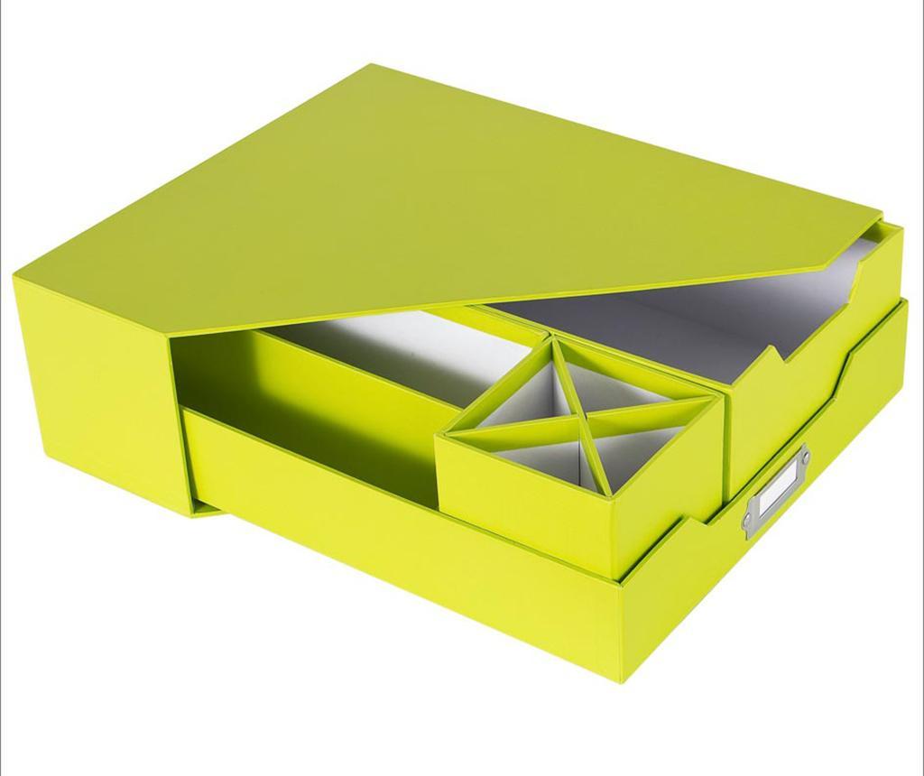 Set organizare birou 5 piese Opaco Green