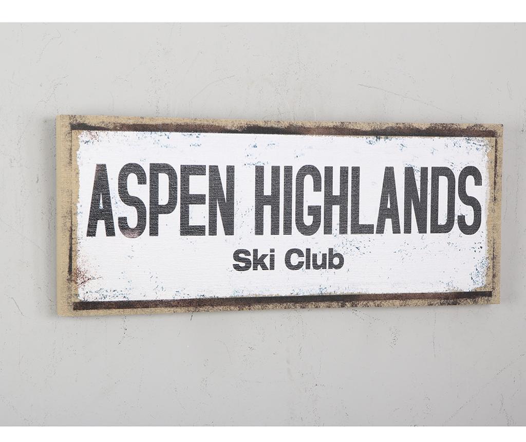 Decoratiune de perete Aspen