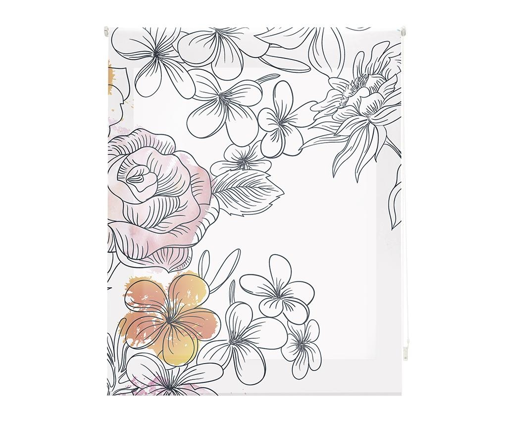 Jaluzea tip rulou Japan Blossom 120x180 cm