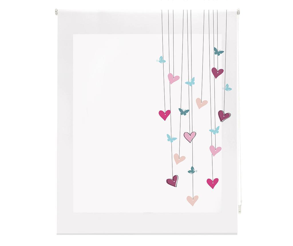 Jaluzea tip rulou Little Hearts 180x180 cm