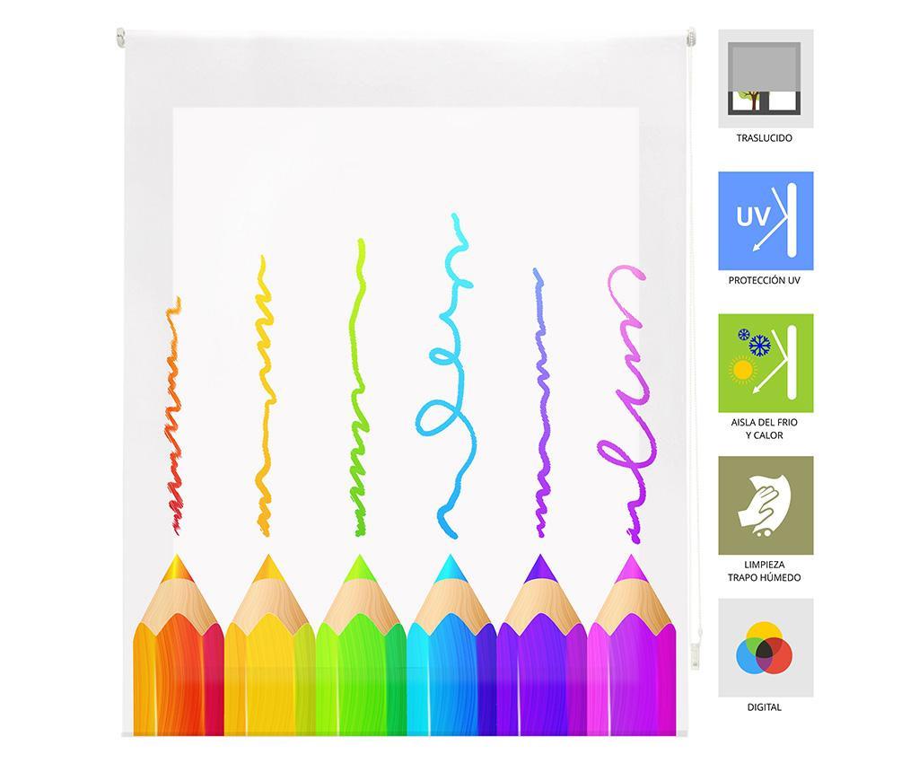 Jaluzea tip rulou Crayons 80x180 cm