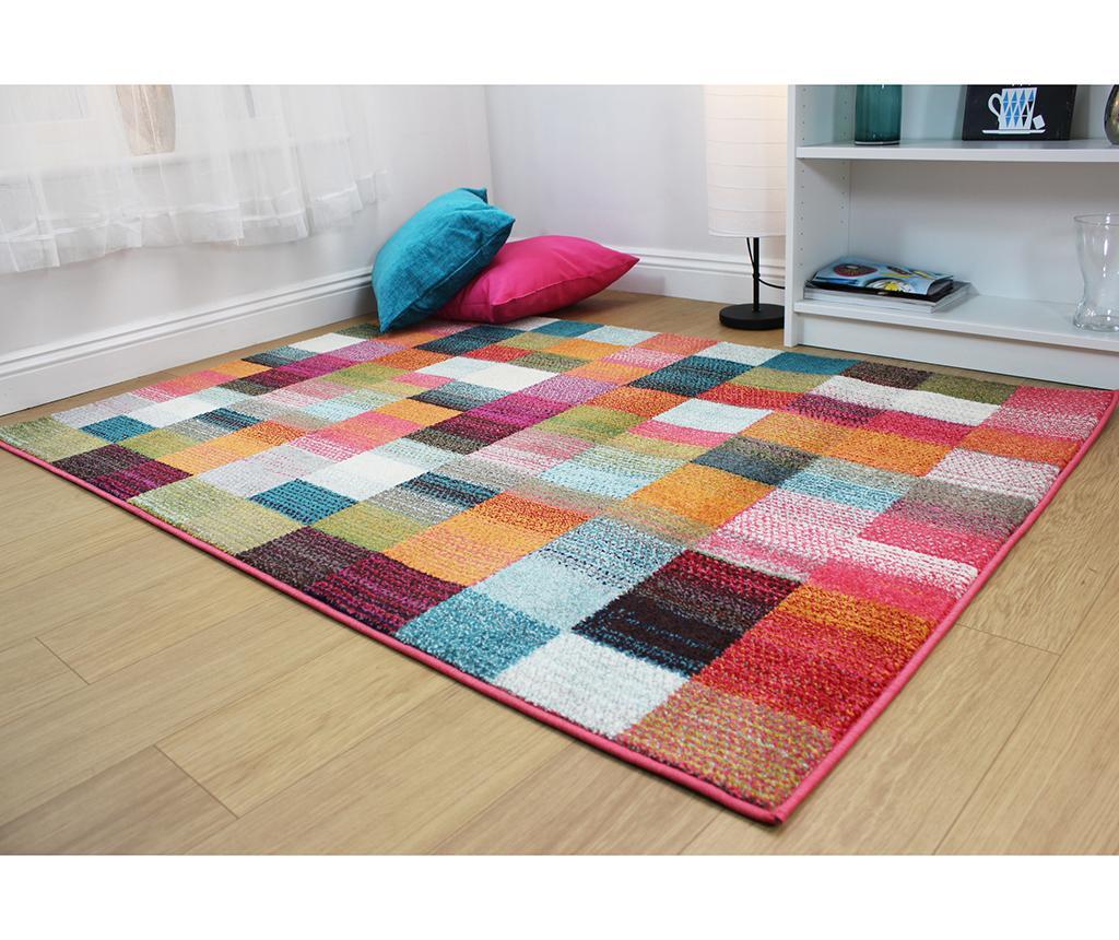 Radiant Abstract Square Szőnyeg 80x150cm