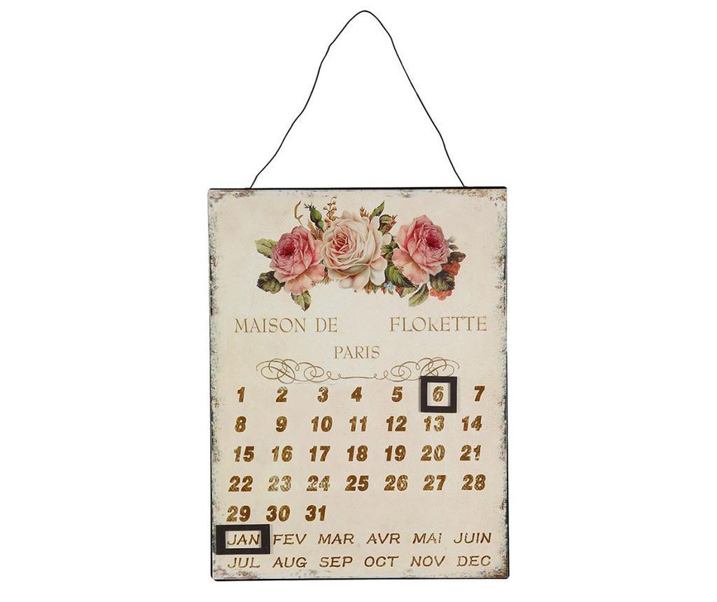Calendar de perete Rose