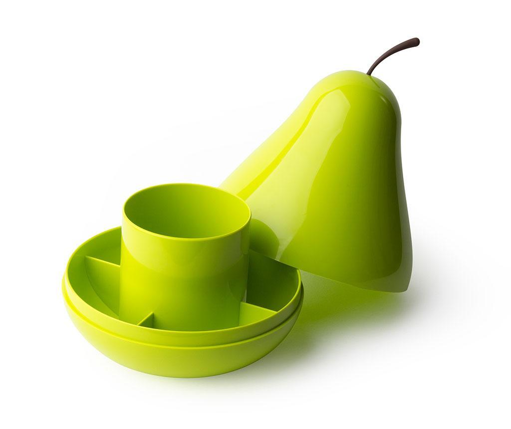Suport pentru accesorii de birou Pear Green