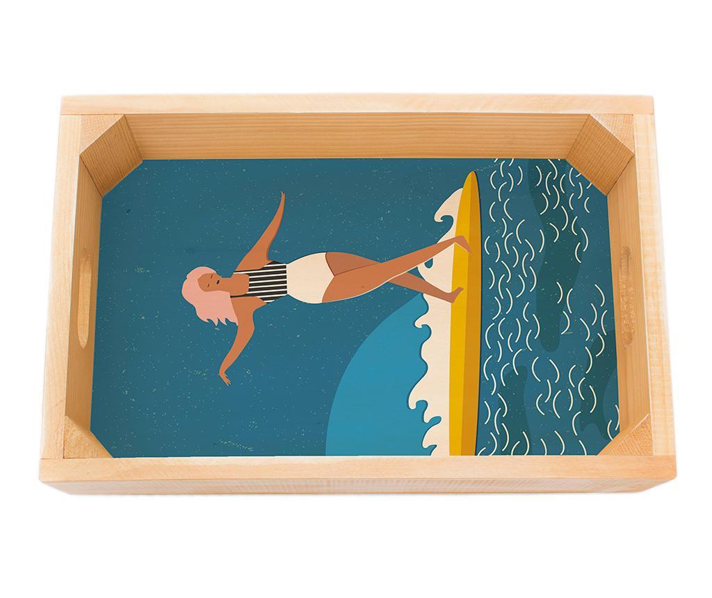 Tava pentru servire Surfer Girl
