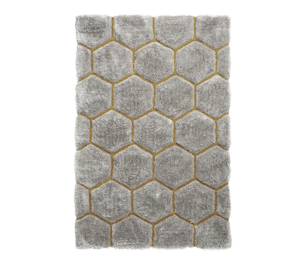 Dywan Noble House Comb Grey Yellow 120x170 cm