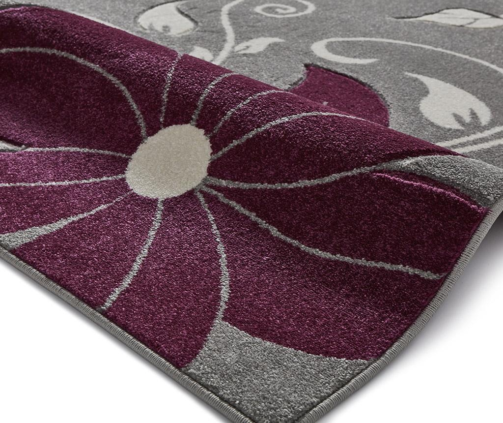 Preproga Verona Grey and Purple 120x170 cm