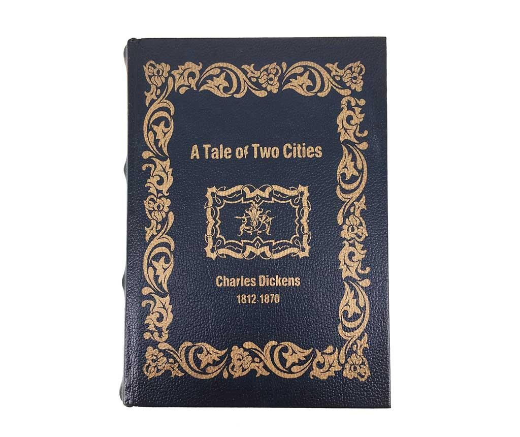 Set 2 škatel v obliki knjige Tale of Two Cities