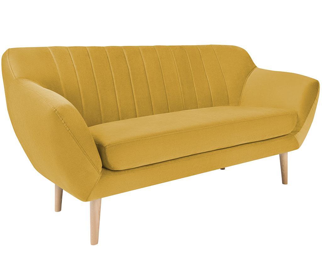 Kanapa dwuosobowa Sardaigne Yellow