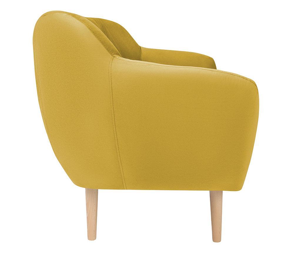 Dvoumístná pohovka Sardaigne Yellow