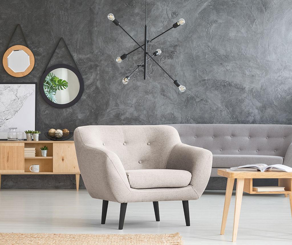 Fotoliu Piemont Light Grey
