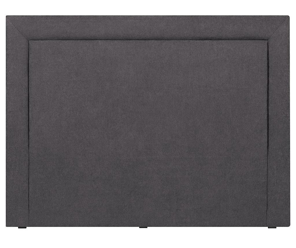 Tablie de pat Ancona Dark Grey 120x160 cm