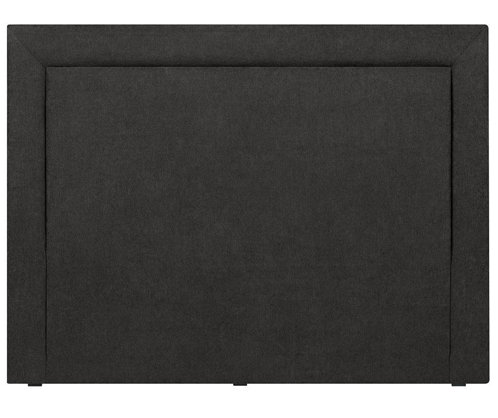 Tablie de pat Ancona Black 120x140  cm