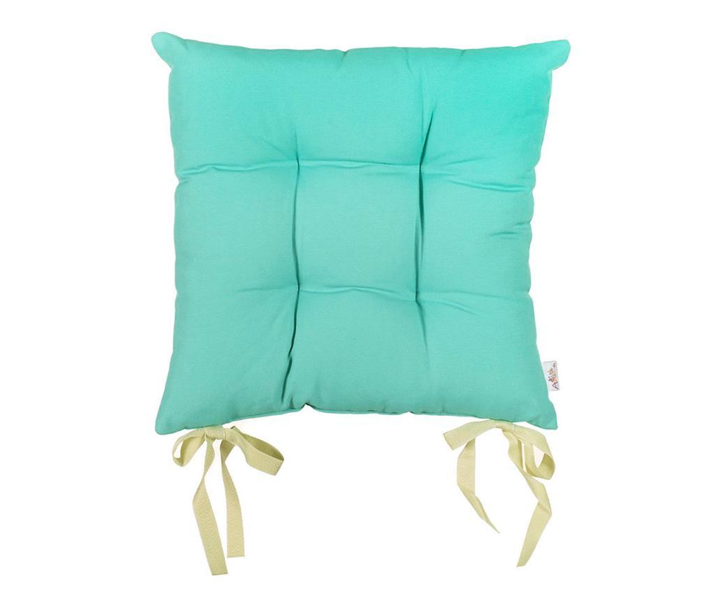 Perna de sezut Pure Turquoise Blue 37x37 cm