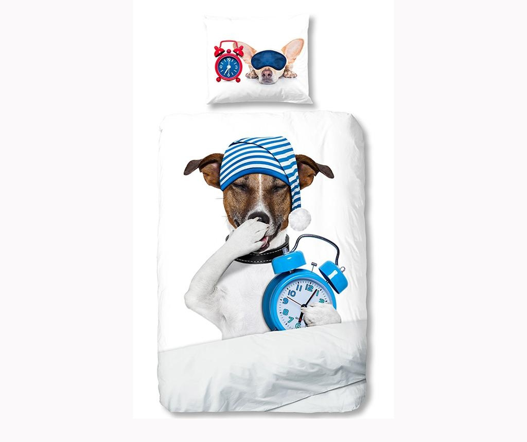 Posteljina Single Ranforce Sleepy Dog