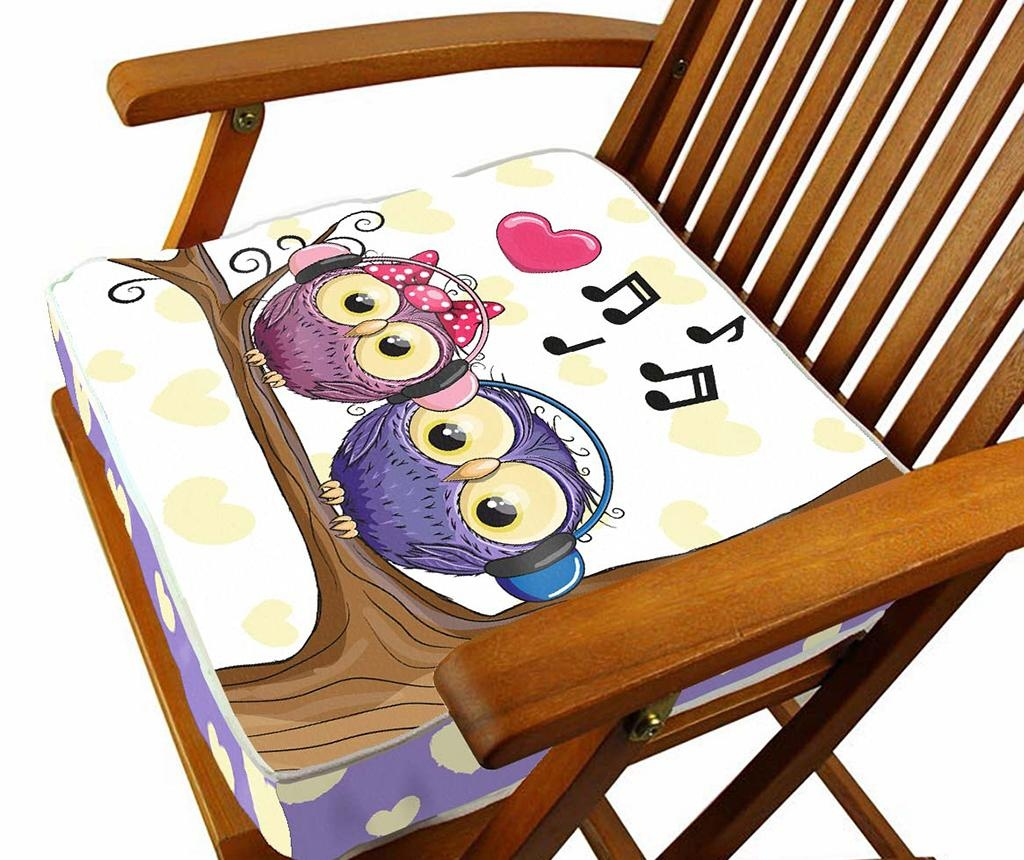 Sedežna blazina Song 43x43 cm