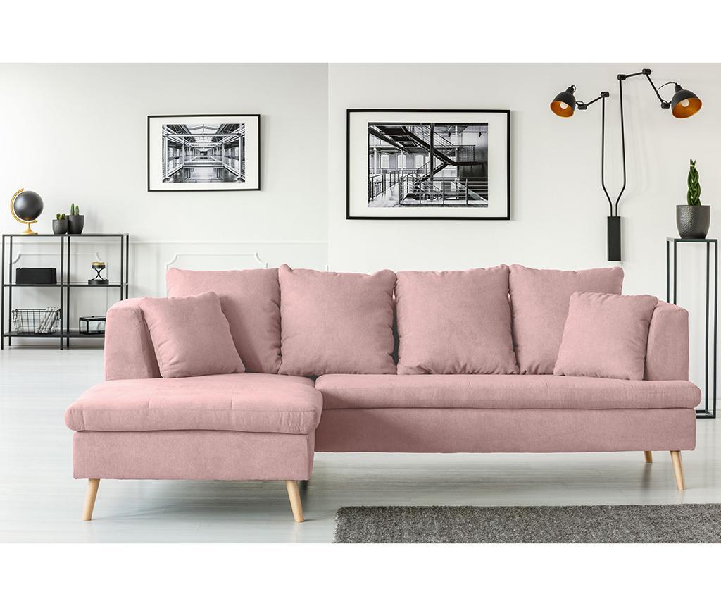 Coltar stanga Newport Light Pink