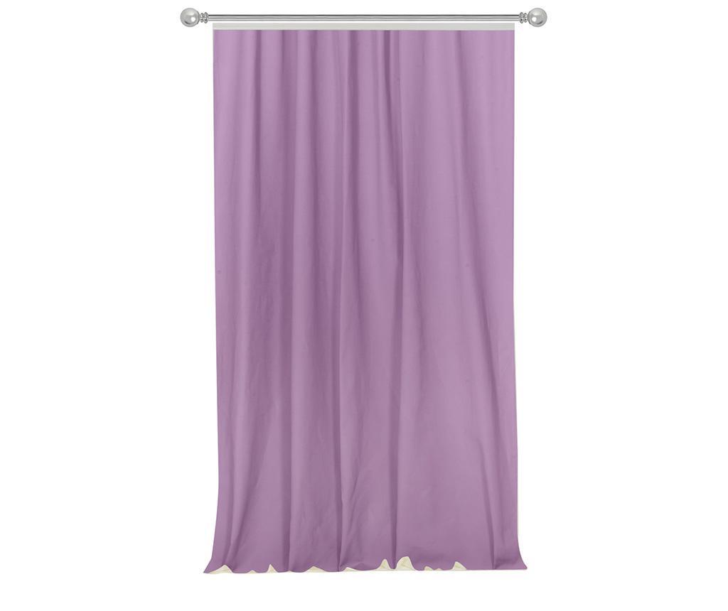 Zastor Simple Purple 170x270 cm