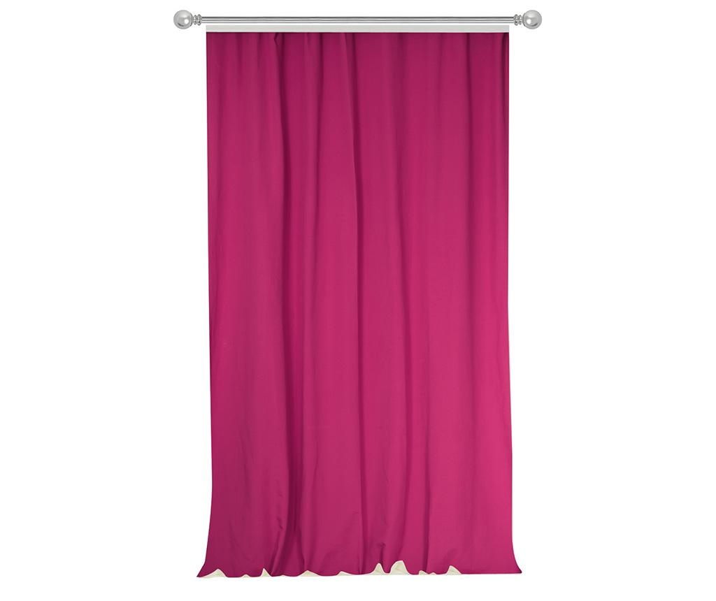 Zastor Simple Fuchsia 170x270 cm