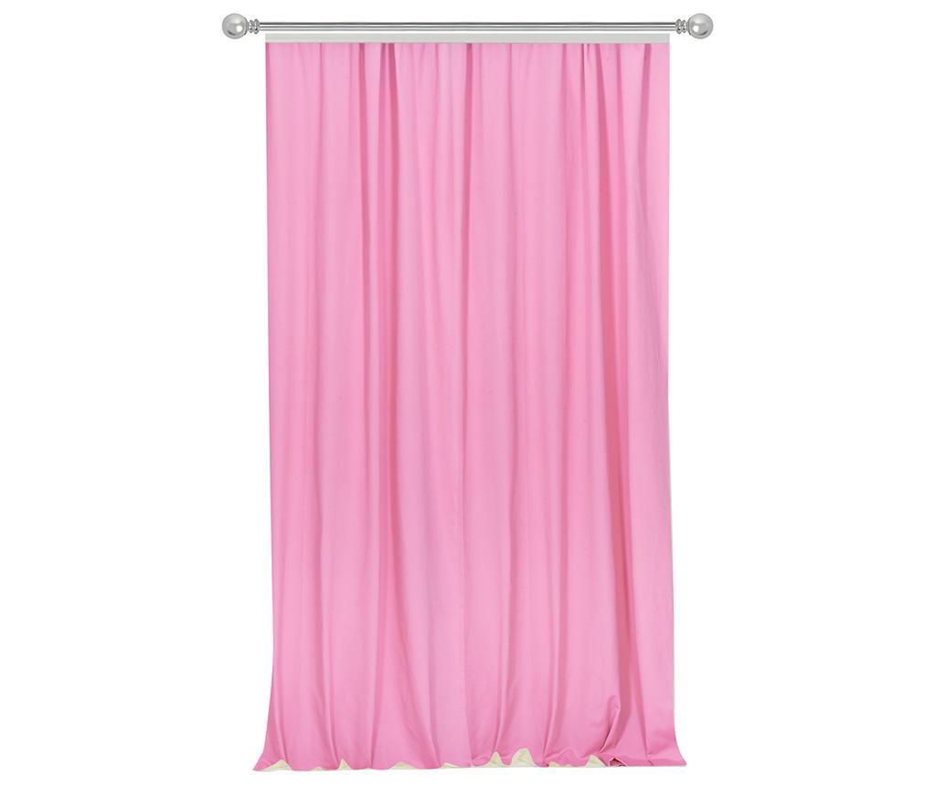 Draperie Simple Pink 170x270 cm