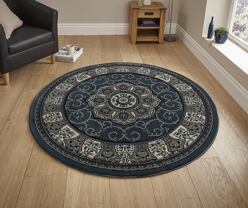 Covor Heritage Dark Blue Circle 150 cm