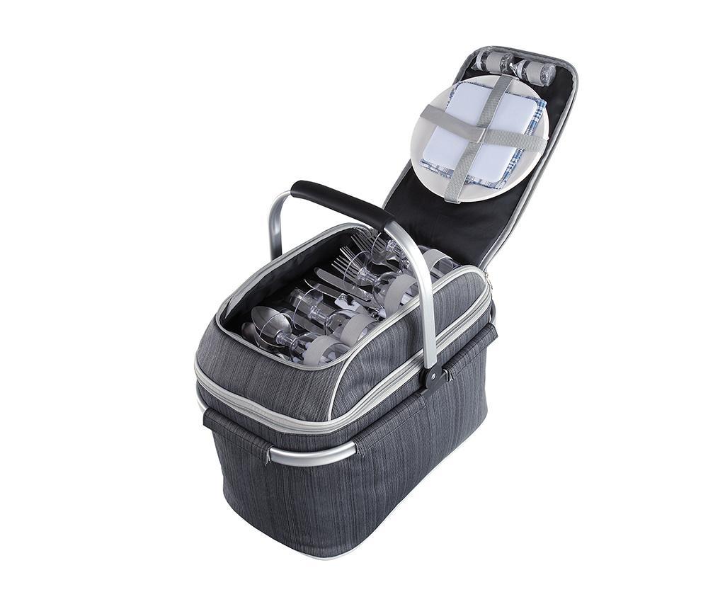 Cos echipat pentru picnic 4 persoane Larkyn