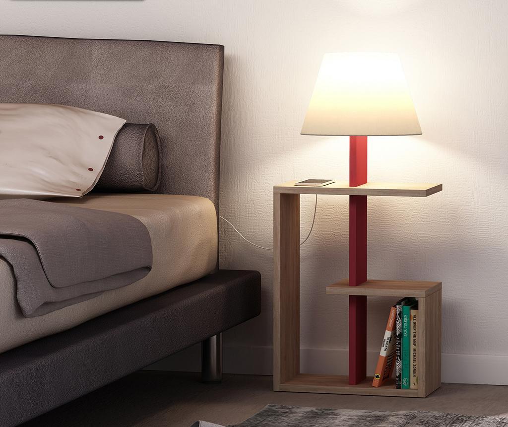 Samostojeća svjetiljka Saly  Oak Claret Red