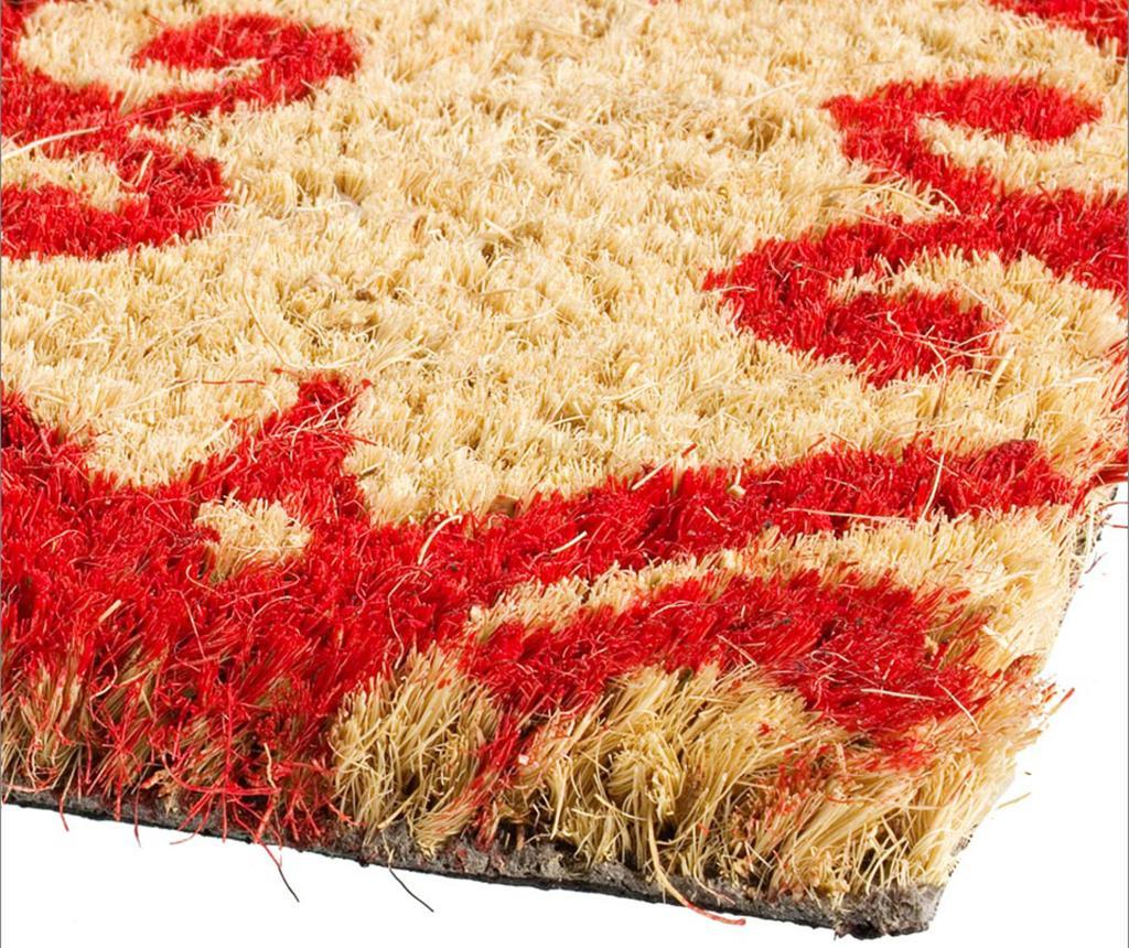 Floral Red Bejárati szőnyeg 40x60 cm