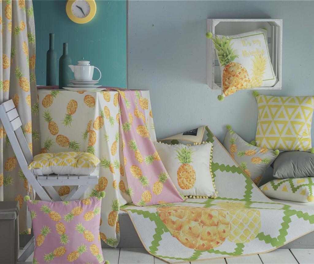 Jastuk za sjedalo Karice Grey 37x37 cm