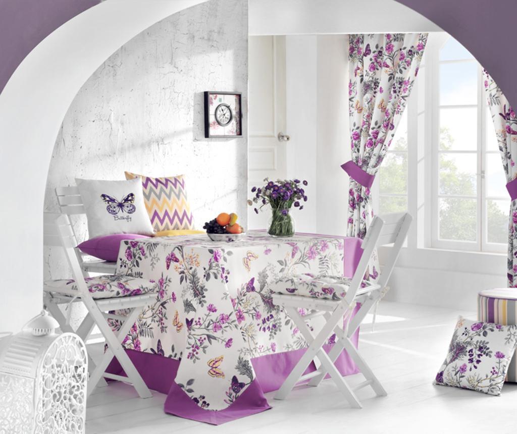 Purple Butterfly Ülőpárna 37x37 cm