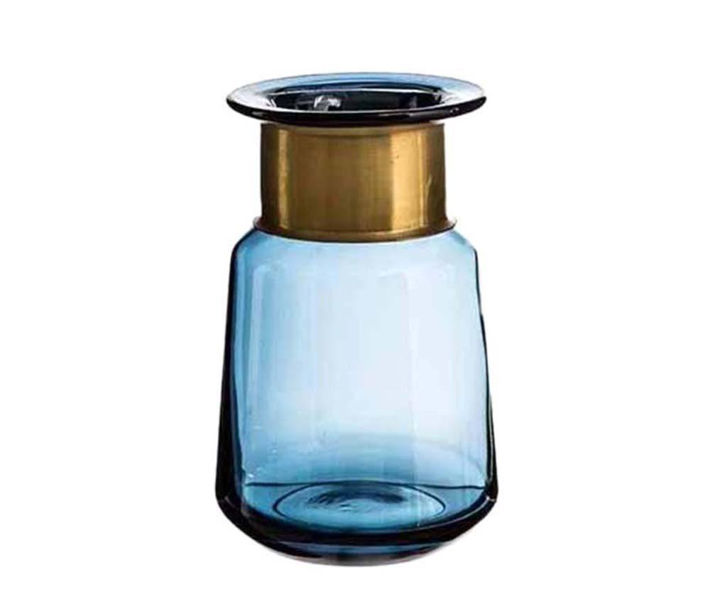 Vaza Rosa Clear Blue