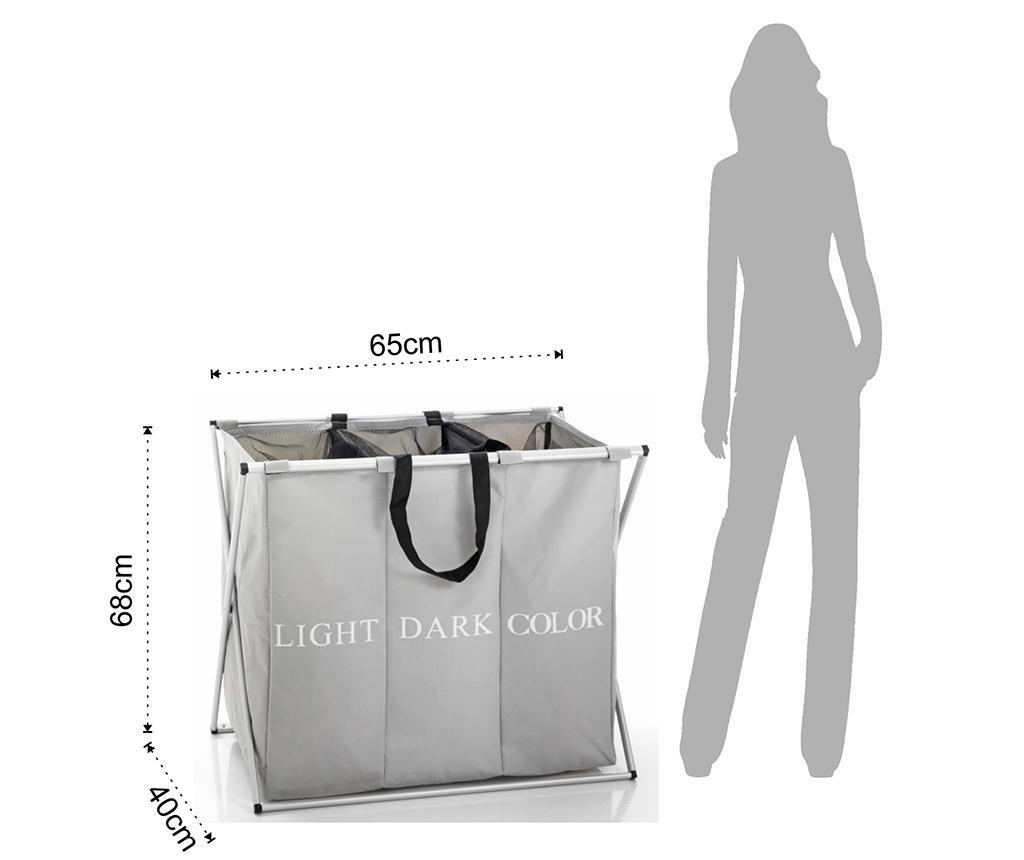 Laundry 3X Összecsukható ruháskosár