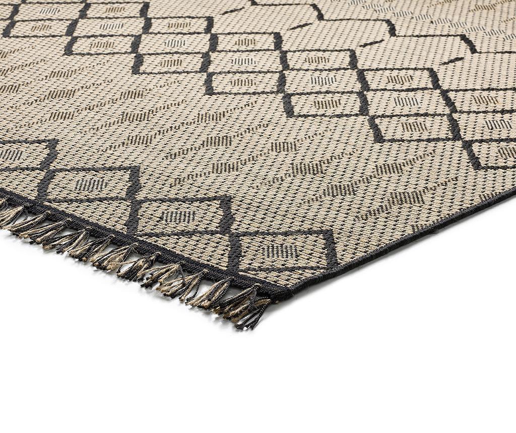 Covor tip pres Amina Honeycomb Beige 135x190 cm