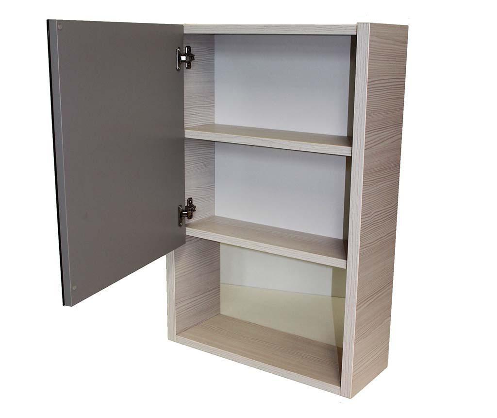 Set mobilier pentru baie 4 piese Giava Cab Grey Pine