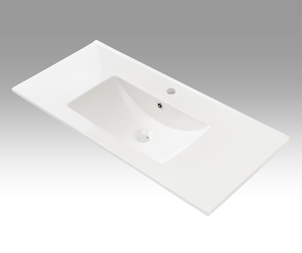 Sada nábytku do kúpeľne 6 ks Ibiza Double Matt White