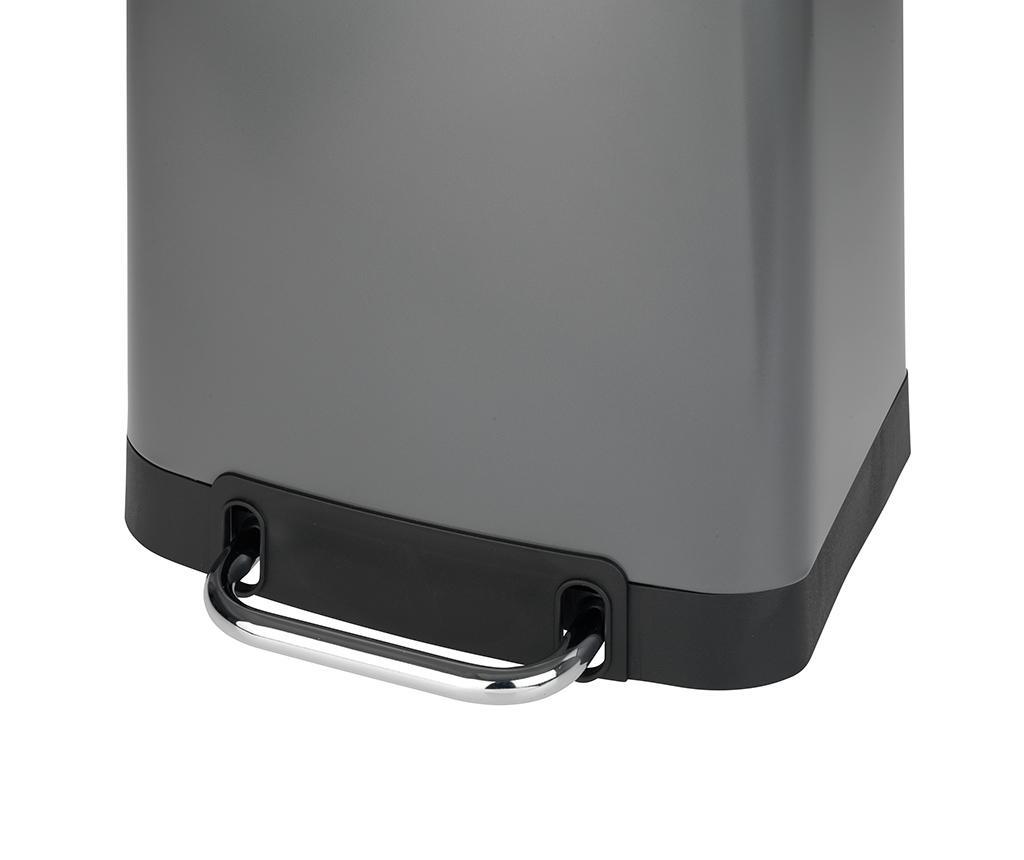 Kanta za smeće s poklopcem i pedalom Easy Close Grey 30 L