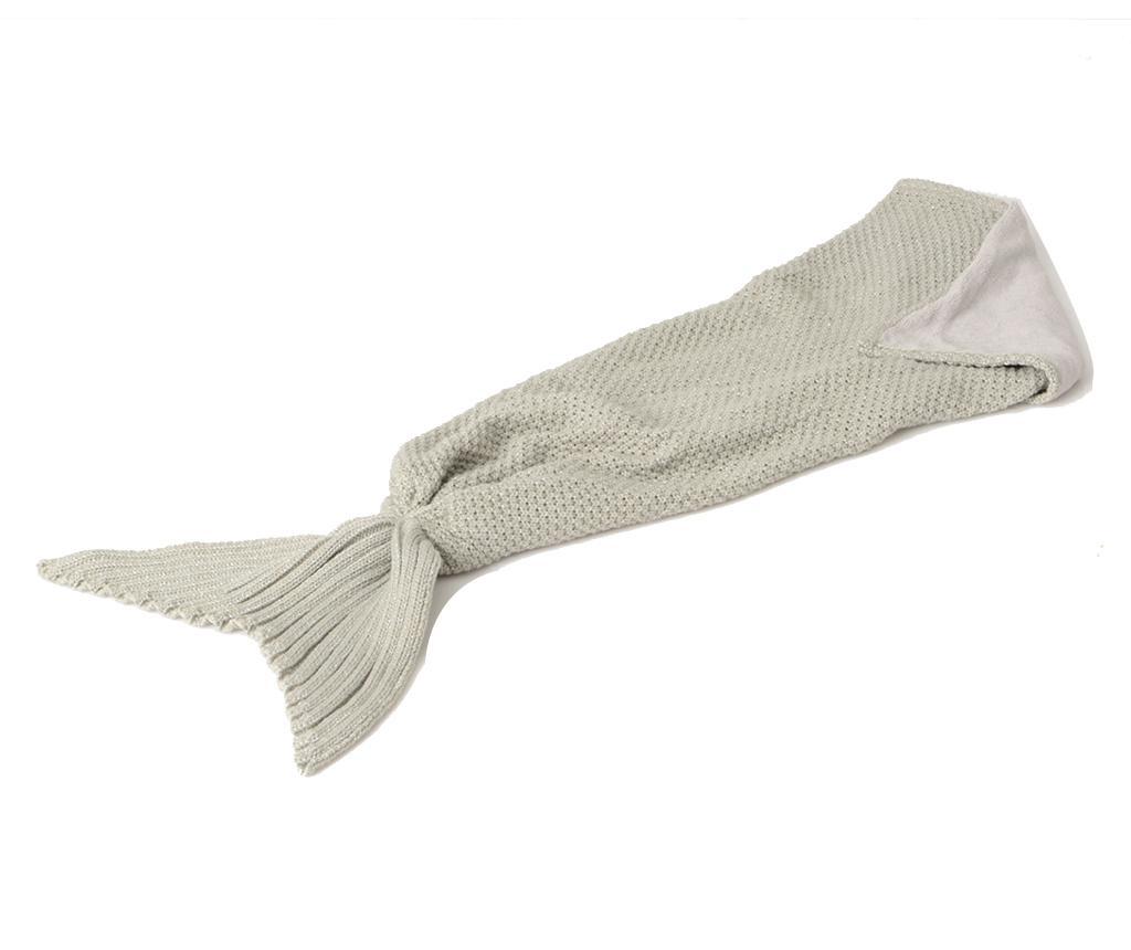 Mermaid Grey Pléd 33x105 cm