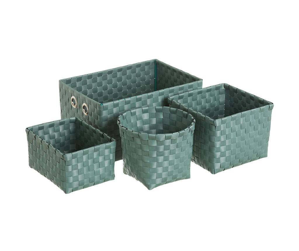 Set 4 cosuri Desire Green