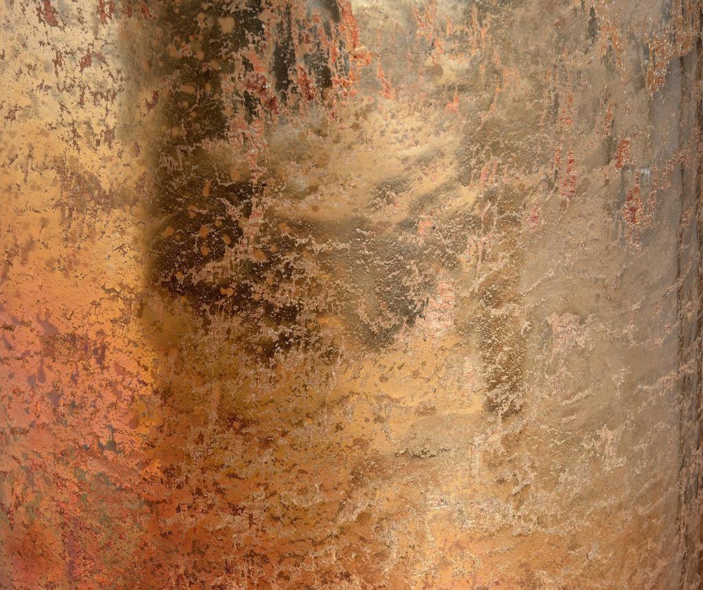 Copper Ombre Gyertyatartó L