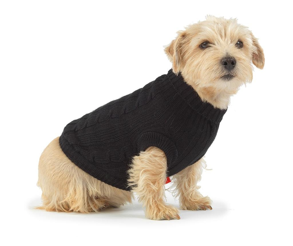 Odjeća za kućne ljubimce Cozy Knit Black M