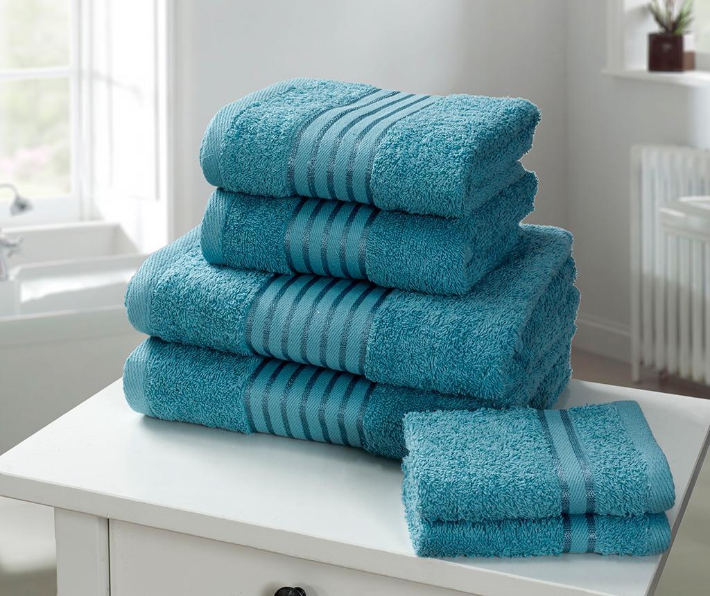 Set 6 kupaonskih ručnika Windsor Aqua