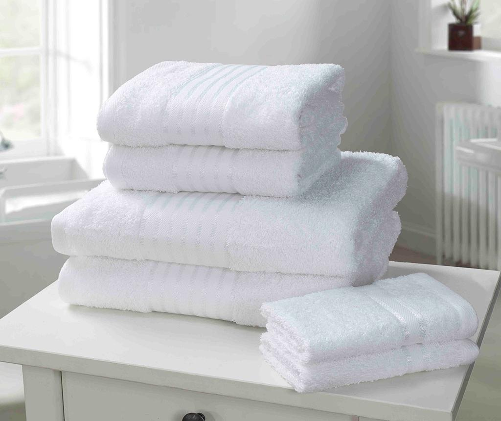 Set 6 prosoape de baie Windsor White