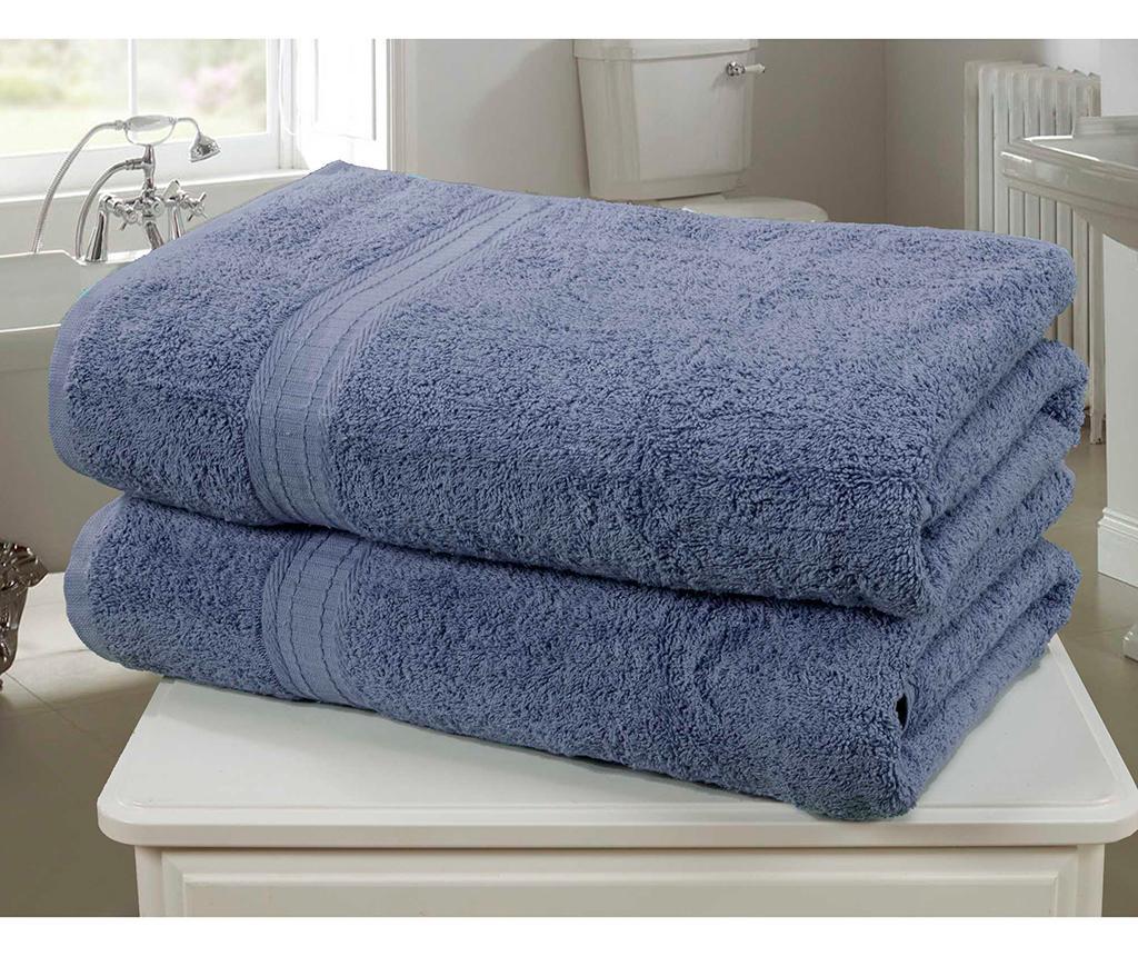 Set 2 kupaonska ručnika Royal Kensington Denim 90x140 cm