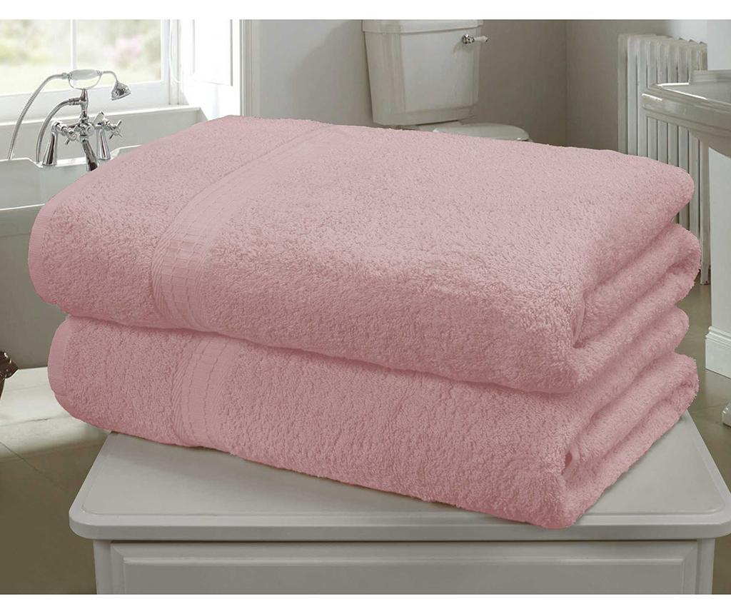 Set 2 kupaonska ručnika Royal Kensington Pink 90x140 cm