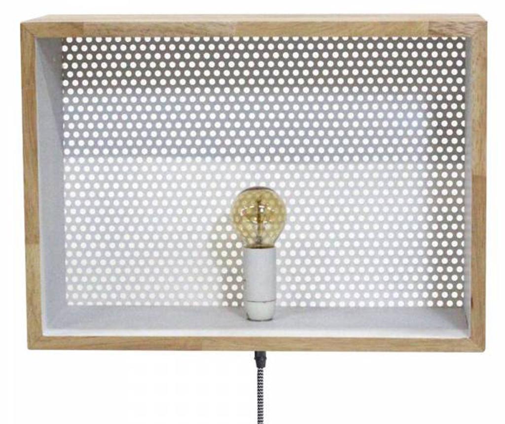 Logan White Mat Fali lámpa