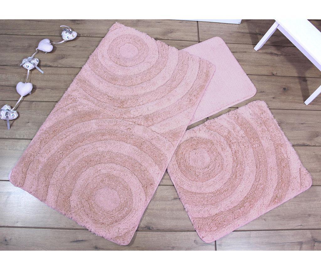 Wave Powder 3 db Fürdőszobai szőnyeg