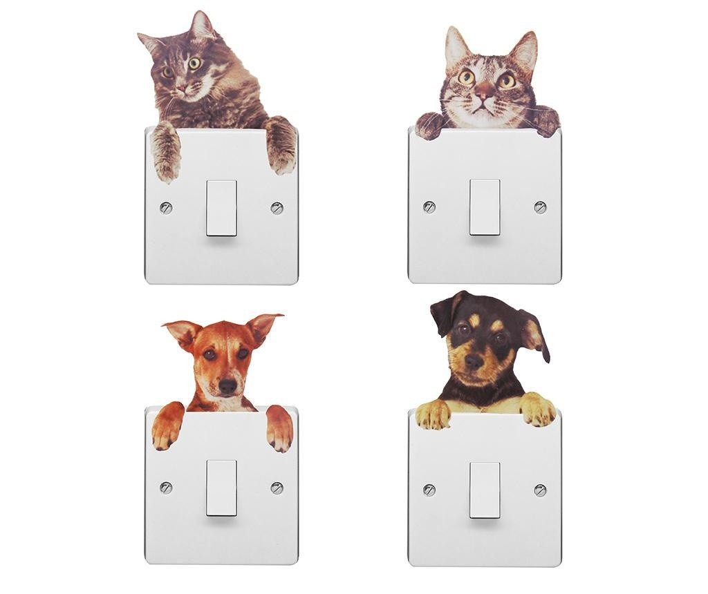 Dogs and Cats 4 db Konnektor matrica